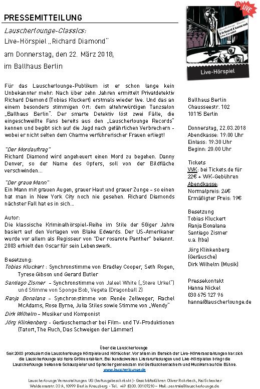 Niedlich Veranstaltung Pressemitteilung Vorlage Ideen - Beispiel ...