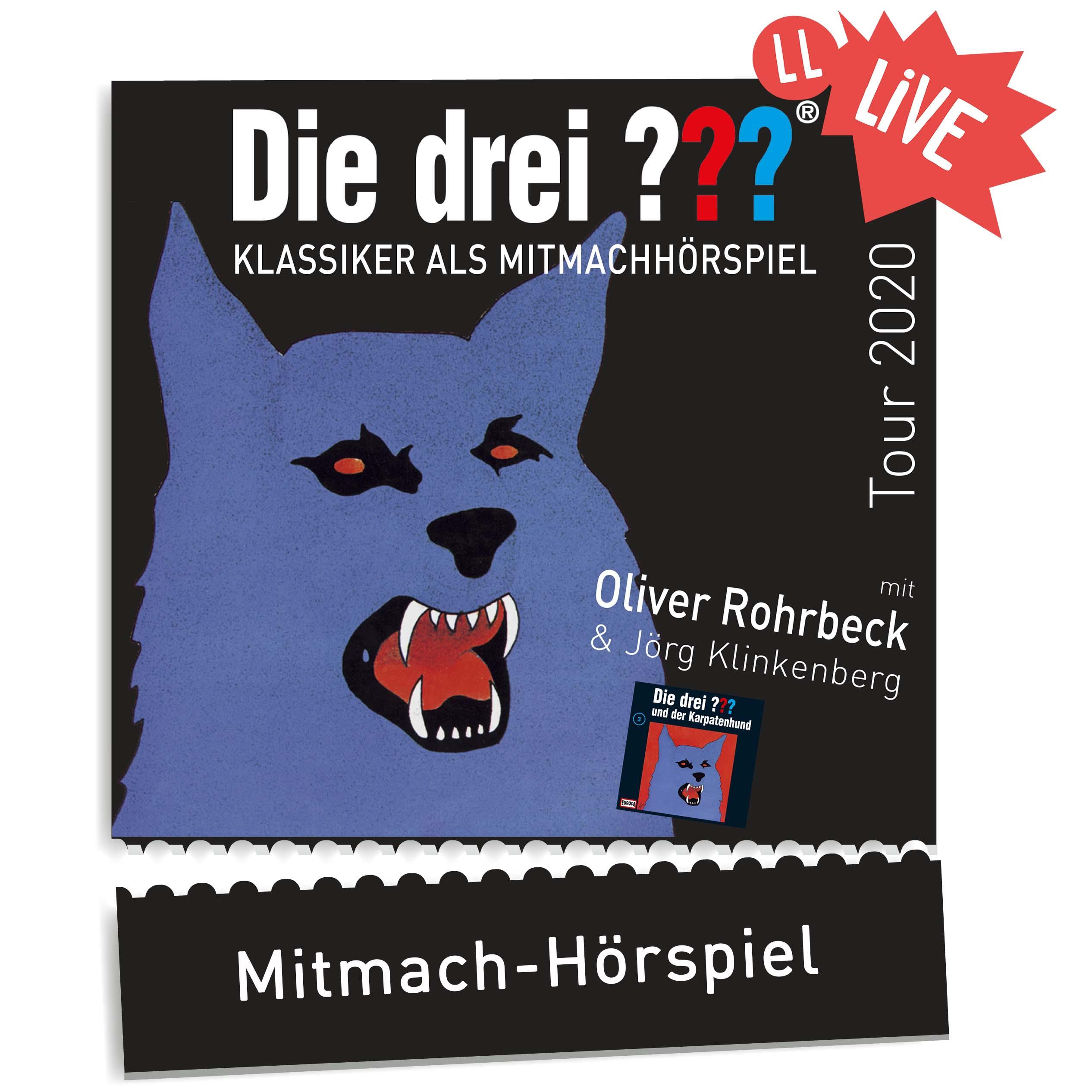 Drei Fragezeichen Frankfurt